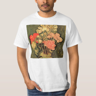 Still Life Vase with Rose-Mallows by van Gogh T-Shirt