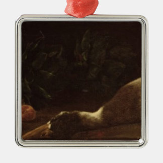Still Life with a Duck, 1863 Christmas Ornament