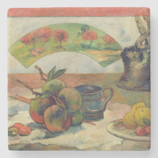 Still Life with a Fan, c.1889 Stone Coaster