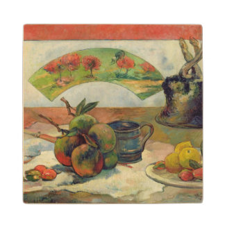 Still Life with a Fan, c.1889 Wood Coaster
