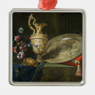 Still Life with a Gilded Ewer Christmas Ornament