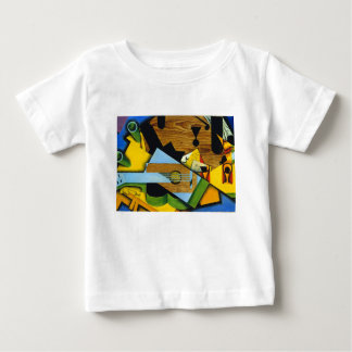 Still Life with a Guitar by Juan Gris Baby T-Shirt