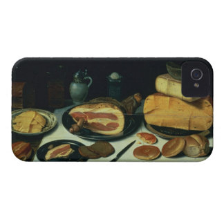 Still Life with a Ham (oil on panel) iPhone 4 Cover