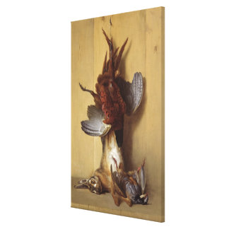 Still Life with a Hare Canvas Print
