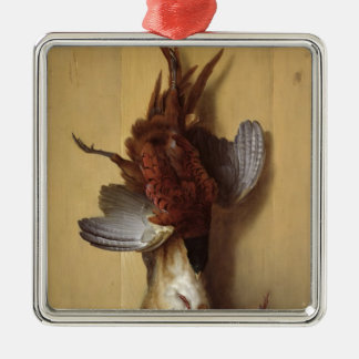 Still Life with a Hare Christmas Ornament