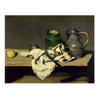 Still Life with a Kettle, c.1869 Postcard