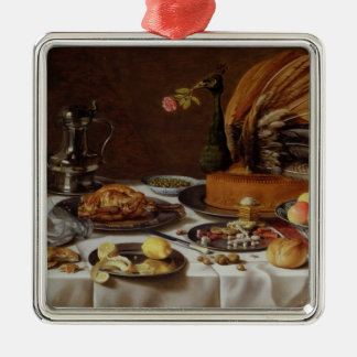 Still Life with a Peacock Pie, 1627 Christmas Ornament