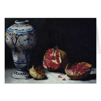 Still Life with a Pomegranate Card