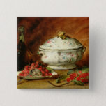 Still Life with a Soup Tureen 15 Cm Square Badge