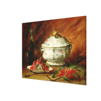 Still Life with a Soup Tureen Canvas Print