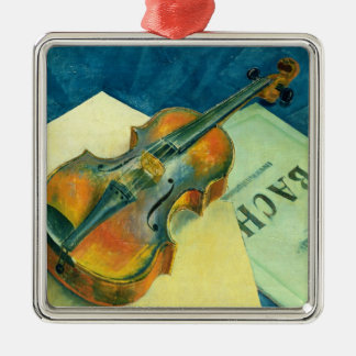 Still Life with a Violin, 1921 Christmas Ornament