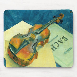 Still Life with a Violin, 1921 Mouse Mat