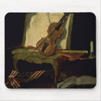Still Life with a Violin Mouse Mat