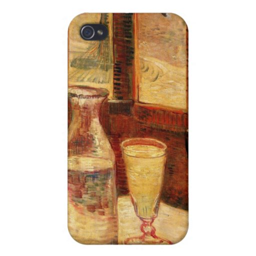 Still Life with Absinthe by Van Gogh iPhone 4 Case