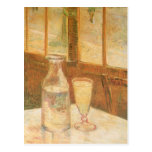 Still Life with Absinthe by Vincent van Gogh Postcard
