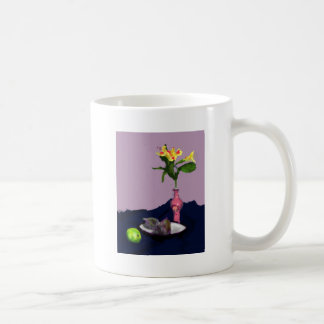 Still Life with Alstroemerias impressionist art Coffee Mug