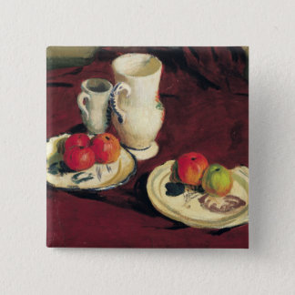Still Life with Apples 15 Cm Square Badge