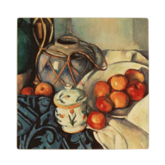 Still Life with Apples, 1893-94 Wood Coaster