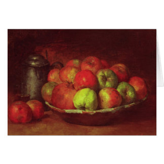 Still Life with Apples and a Pomegranate Card