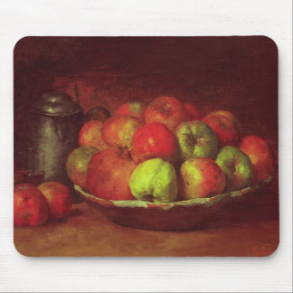 Still Life with Apples and a Pomegranate Mouse Mat