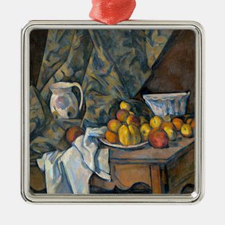 Still Life with Apples and Peaches, c.1905 Christmas Ornament
