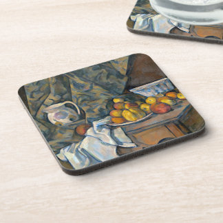 Still Life with Apples and Peaches, c.1905 Coaster