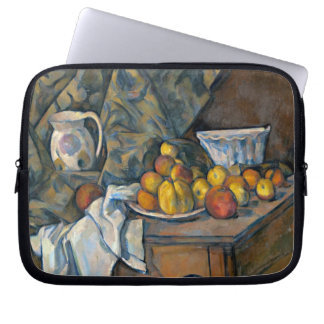 Still Life with Apples and Peaches, c.1905 Laptop Computer Sleeves