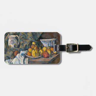 Still Life with Apples and Peaches, c.1905 Luggage Tag