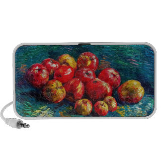 Still Life with Apples by Vincent Van Gogh iPod Speakers