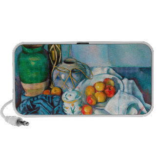 Still Life with Apples Paul Cézanne painting food Laptop Speakers