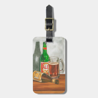 Still Life with Beer by Jennifer Goldberger Bag Tag