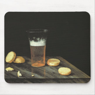 Still life with Beer Glass Mouse Mat