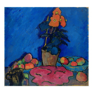 Still Life with Begonia, 1911 Poster