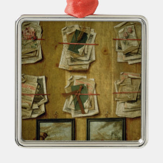 Still Life with Book Sheets and Pictures, 1783 Christmas Ornament