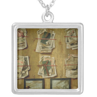 Still Life with Book Sheets and Pictures, 1783 Pendants