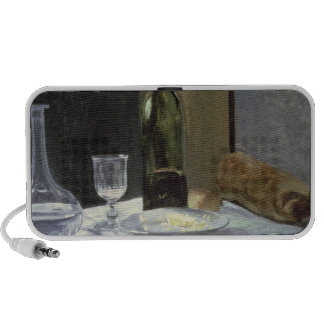 Still Life with Bottles, 1859 (oil on canvas) Laptop Speaker