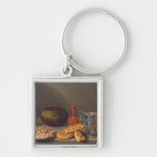 Still life with bread, 1648 keychain