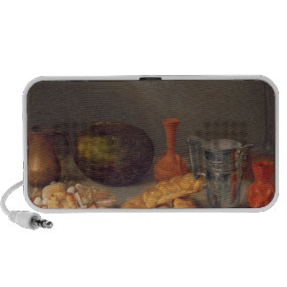 Still life with bread, 1648 portable speakers