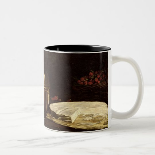 Still Life with Brie, 1863 Two-Tone Coffee Mug