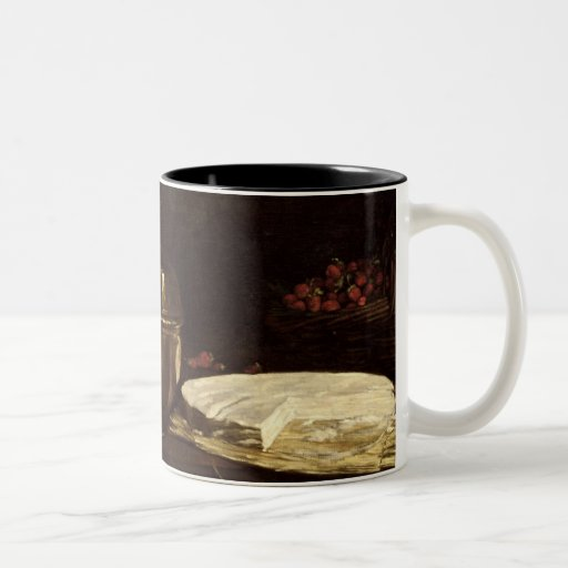 Still Life with Brie, 1863 Two-Tone Mug