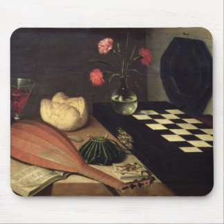 Still Life with Chess-board, 1630 Mouse Mat