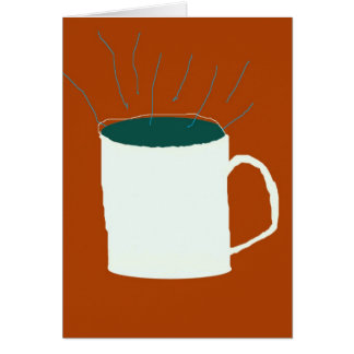 still life with coffee card