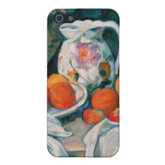 Still Life with Curtain, Paul Cézanne iPhone 5/5S Cover