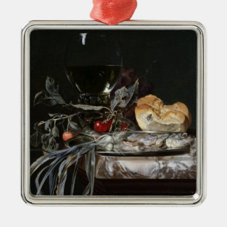 Still Life with Fish Platter Christmas Ornament