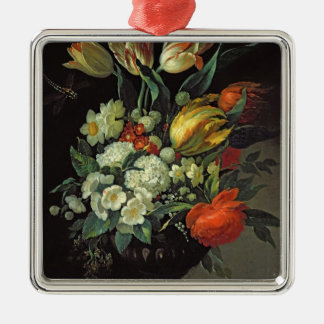 Still Life with Flowers, 1764 Christmas Ornament