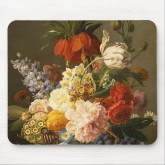 Still Life with Flowers and Fruit, 1827 Mousepads