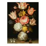 Still Life with Flowers Postcard