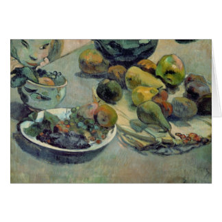 Still Life with Fruit, 1888 Card