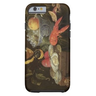 Still Life with Fruit and Shell Fish, 1653 (oil on Tough iPhone 6 Case
