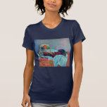 Still Life With Fruit Basket And Knife By Gauguin Tee Shirt